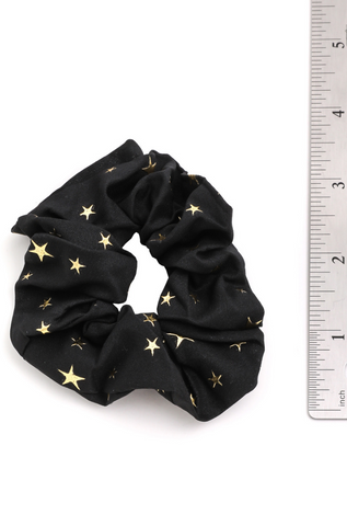 STAR HAIR SCRUNCHIE