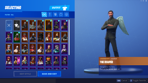 Stacked Account W/ 40 Skins (INSTANT DELIVERY)