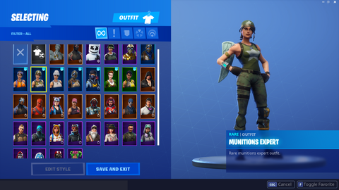 Stacked Account W/ 34 Skins (INSTANT DELIVERY)