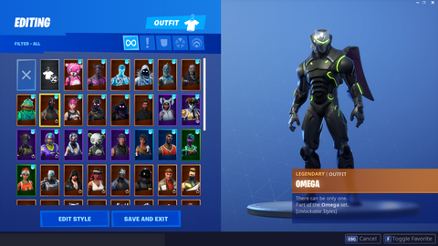 Stacked Account W/ 68 Skins (INSTANT DELIVERY)