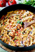 Southwest BBQ Ranch Chicken Pasta