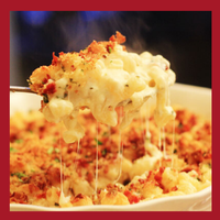 Special this week:   Macaroni & Cheese