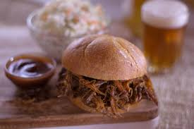 Pulled Pork Sliders with Coleslaw