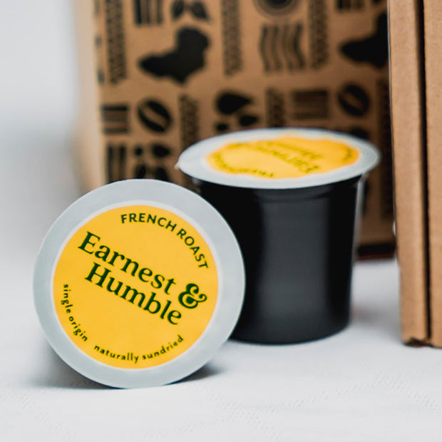 Tanzanian Peaberry Single Serve Pods - Earnest&HumbleCo