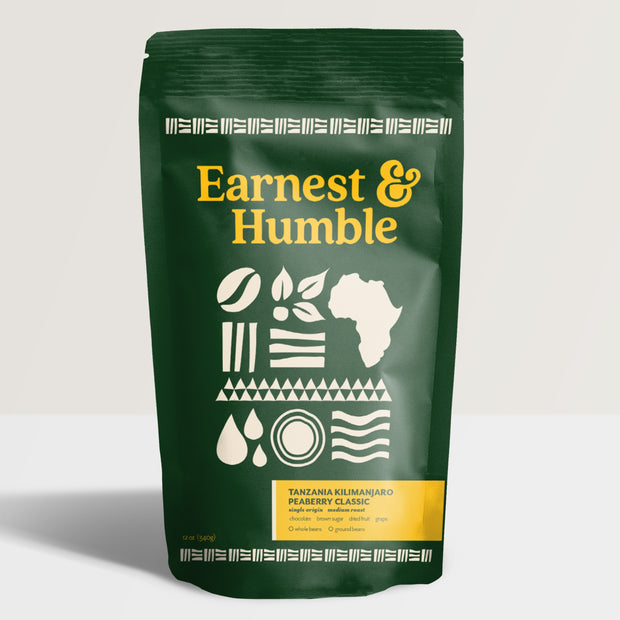 Tanzanian Peaberry Coffee - Earnest&HumbleCo
