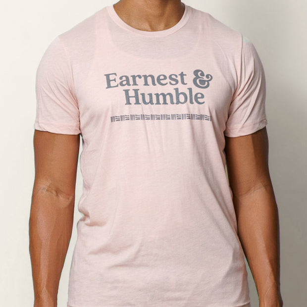 Pink Earnest & Humble Tee - Earnest&HumbleCo