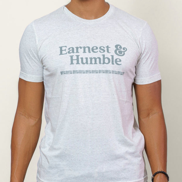 Oatmilk Earnest & Humble Tee - Earnest&HumbleCo
