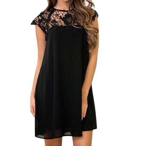 Women's Sleeveless Dress Bodycon Evening Party Short Mini Dress