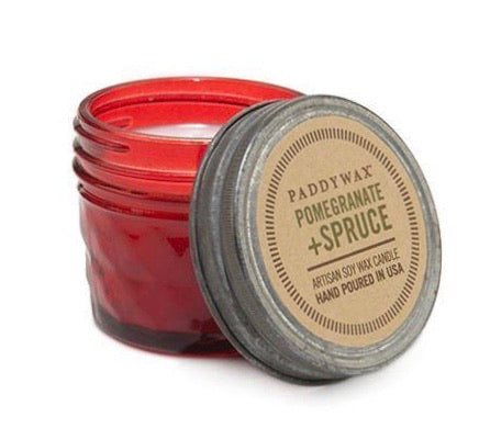 Paddywax Relish Jar - Red Pomegranate & Spruce