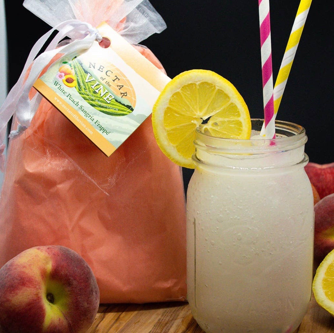 Peach Wine Slushy