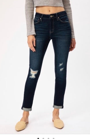 KanCan Distressed Jean