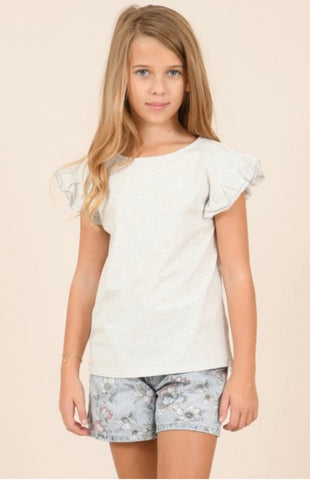 Back Lace Tee