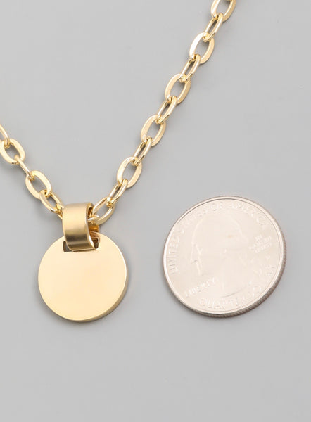 Coin Chain Necklace