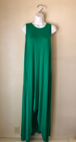 High Low Verde Maxi