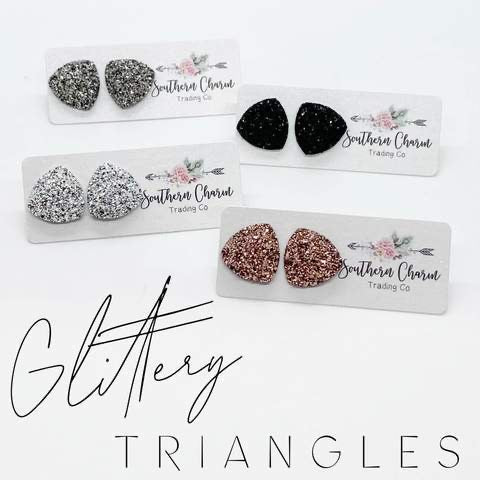 Glittery Triangles