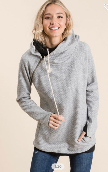 Double Hooded Sweater