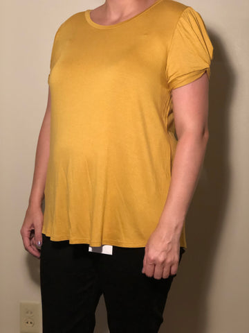 Mustard Twist Sleeve