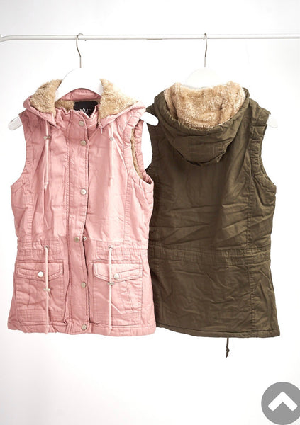 Blush Sleeveless Vest