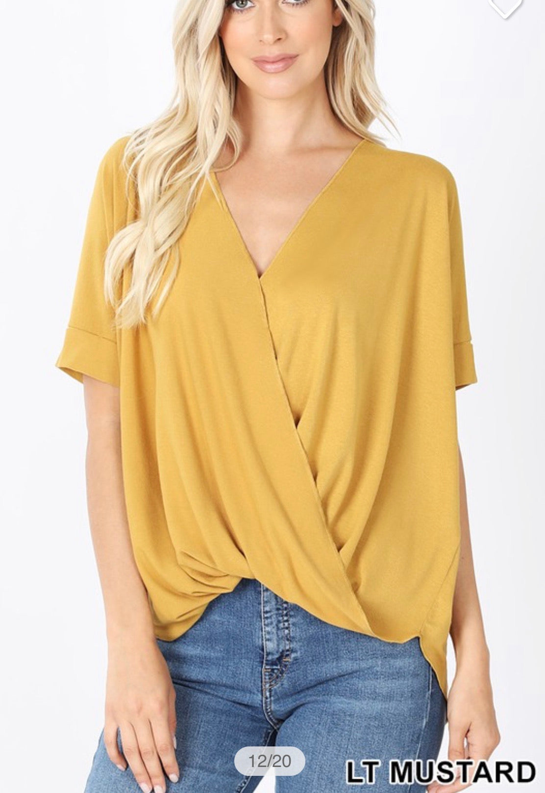Crepe Layered Top