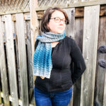 "Ombre Lace ""Peacock"" Scarf"