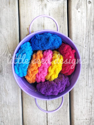 Reusable Knit Water Balloons - Rainbow