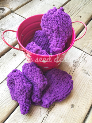 Reusable Knit Water Balloons - Purple