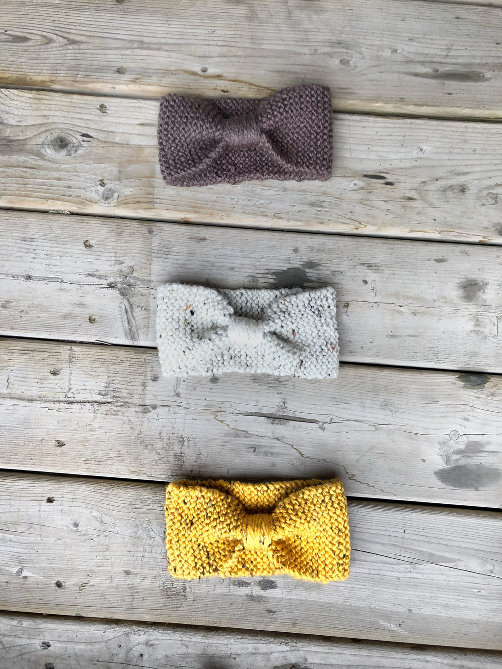 Put a Bow on It Headband (pattern)