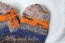 Load image into Gallery viewer, Kids Knit Winter Mittens
