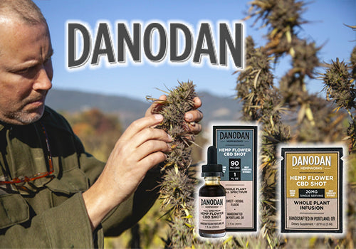 DANODAN - Water Soluble CBD Tinctures