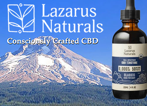Lazarus Naturals - Consciously Crafted CBD