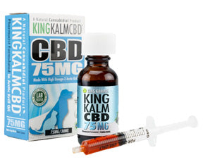 Contents, KING KANINE - King Kalm CBD Oil for Pets – 75mg / 30ml