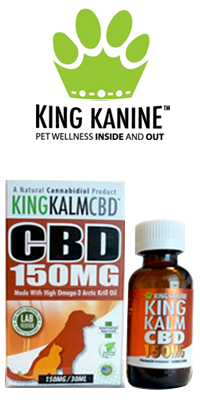 Bottle & Box, KING KANINE - King Kalm CBD Oil for Pets – 150mg / 30ml
