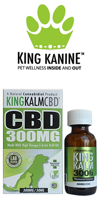 Bottle & Box, KING KANINE - King Kalm CBD Oil for Pets – 300mg