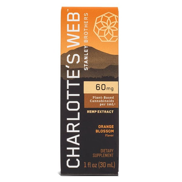 Box, Charlotte's Web CBD Oil, Orange Blossom, 60mg / ml