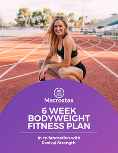 6-week Bodyweight Fitness Plan