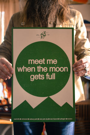 Meet Me When the Moon Gets Full December 2017 Print