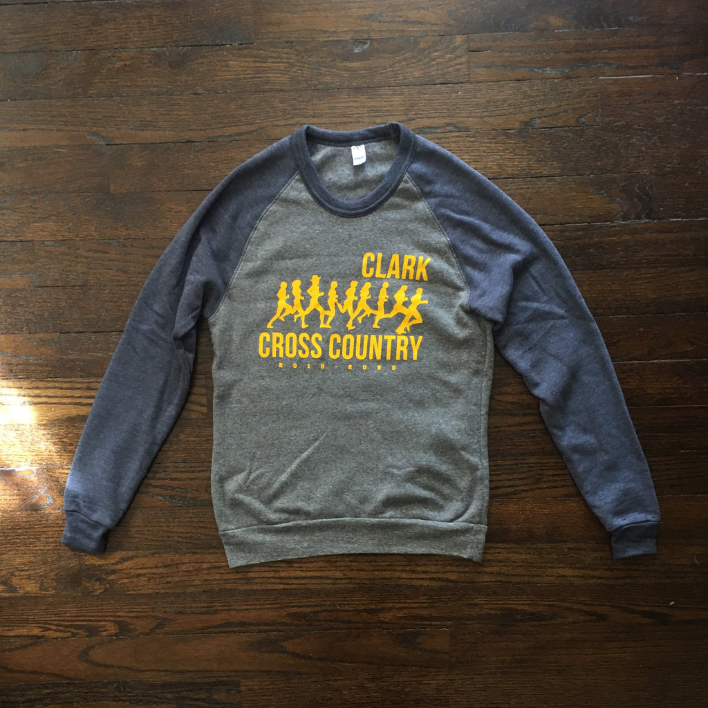 Clark Cross Country Blue / Grey / Gold Alternative Sweatshirt