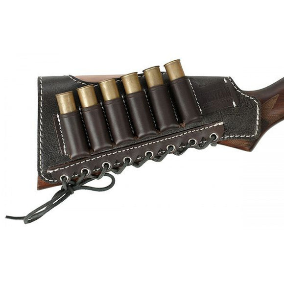 CARTRIDGE HOLDER ON THE BUTT FOR 6 ROUNDS (12-16 GAUGE) WESTERN