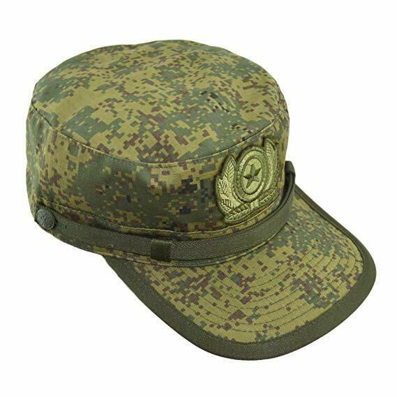 Genuine Russian Military Summer Field Cap (RATNIK) in Digital Flora by BTK Group