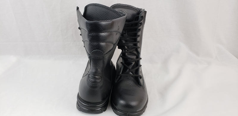 Russian Army VKPO (VKBO) Demi-Season Leather Boots Black