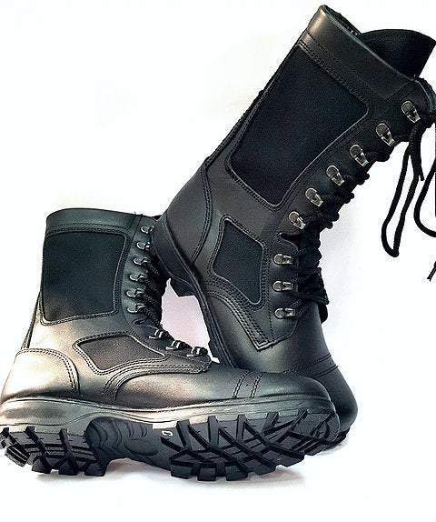 Russian Army VKPO (VKBO) Leather Summer Boots Black