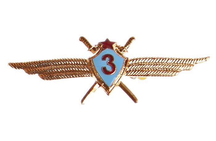USSR Flight Class 3 Soviet Army Narrow Badge