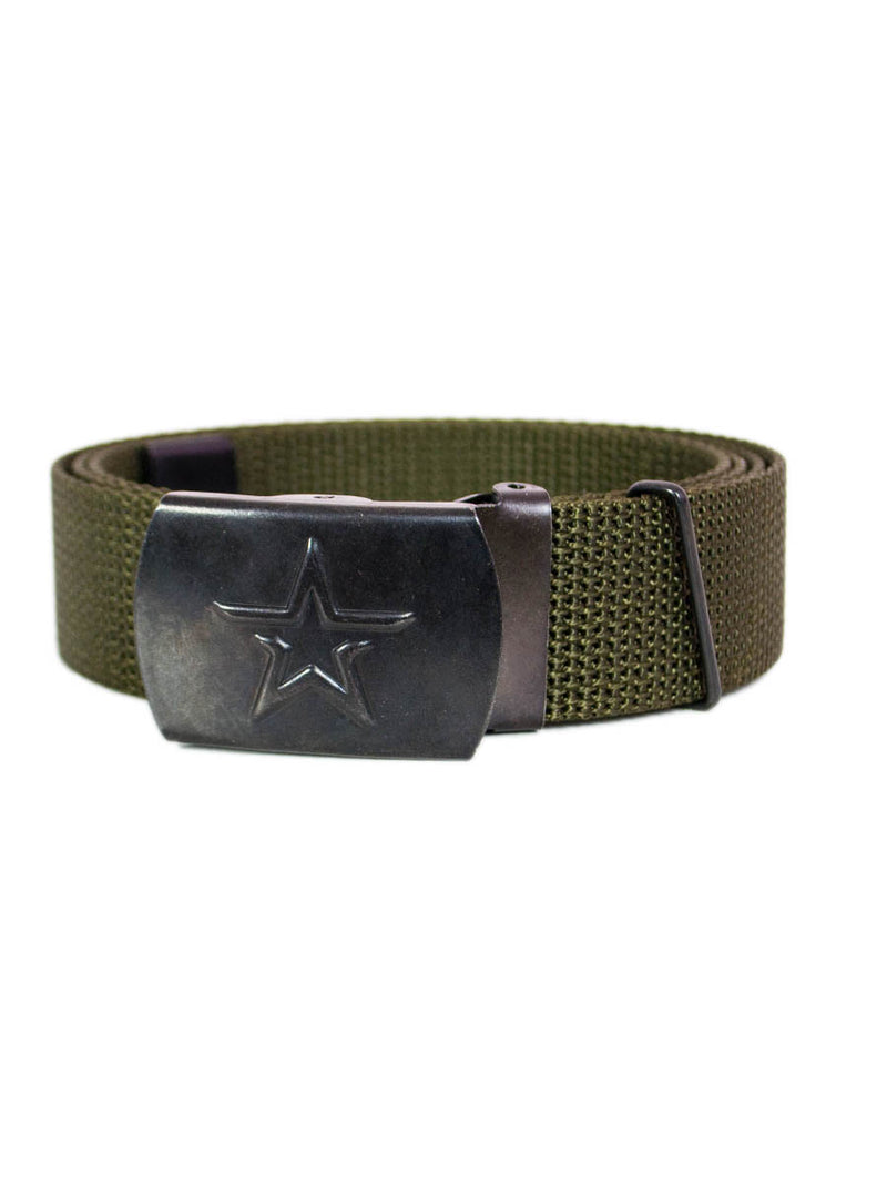 Russian Army Narrow Nylon Belt Olive
