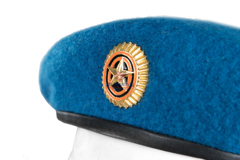Russian Army Beret With Star Blue