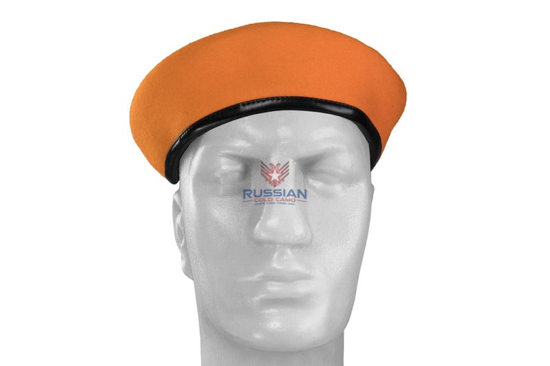 Russian Army Beret Orange