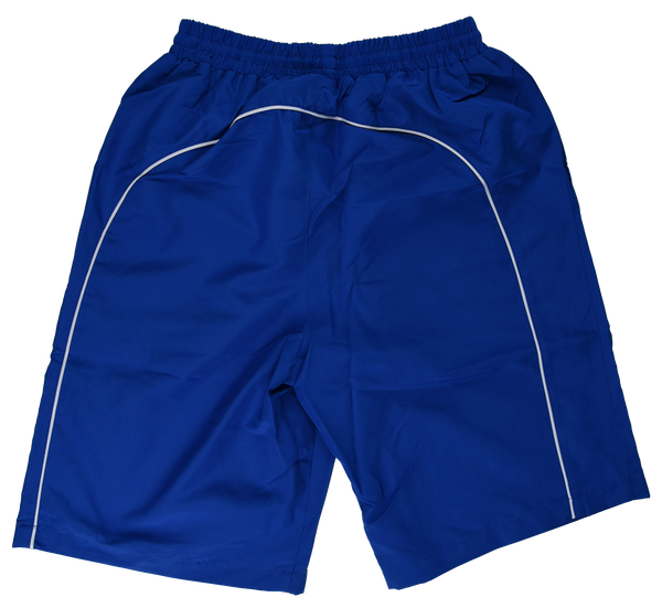 Russian Army Shorts Blue White Line