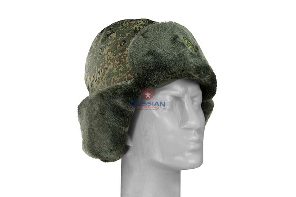 Russian Army VKPO (VKBO) Ushanka Winter Hat New Generation EMR (Digital Flora)