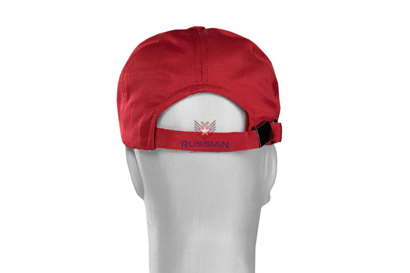 Russian Army Sports Cap Red