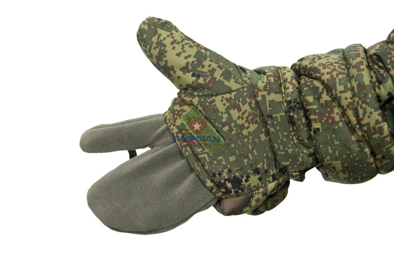 Russian Army VKPO (VKBO) Mittens Insulated Gloves New Generation EMR (Digital Flora)