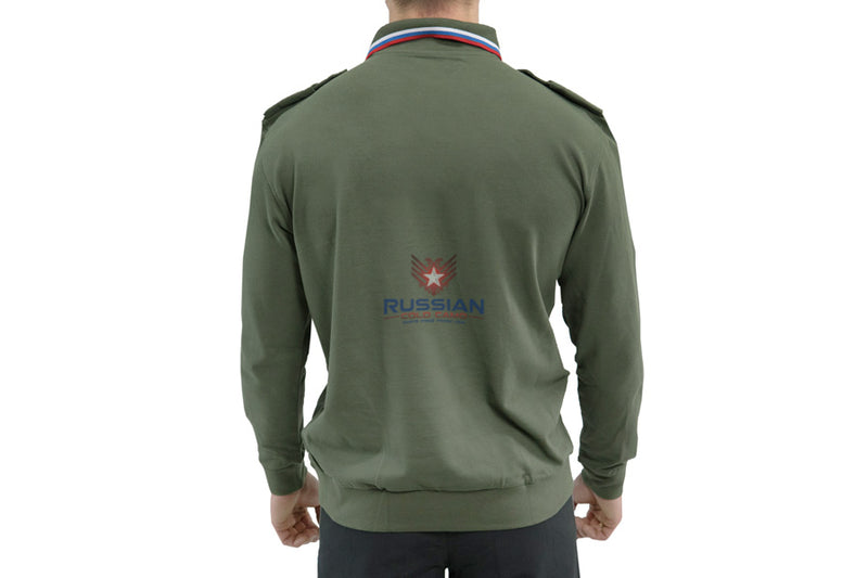 Russian Army Center of Defense Polo Long Sleeves Olive